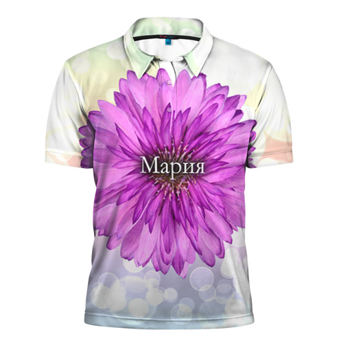 Мужская рубашка поло 3D Мария