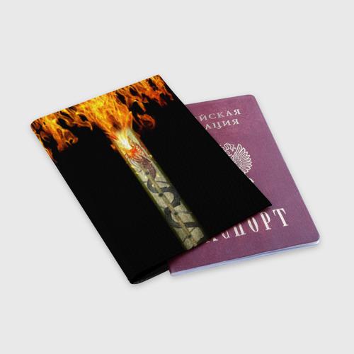 Обложка для паспорта матовая кожа  Фото 03, Dragon Lore