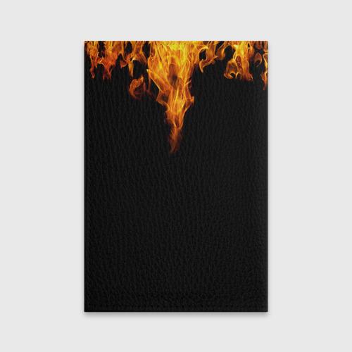 Обложка для паспорта матовая кожа  Фото 02, Dragon Lore