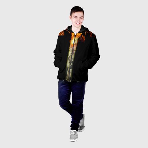 Мужская куртка 3D  Фото 03, Dragon Lore