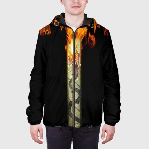 Мужская куртка 3D  Фото 04, Dragon Lore