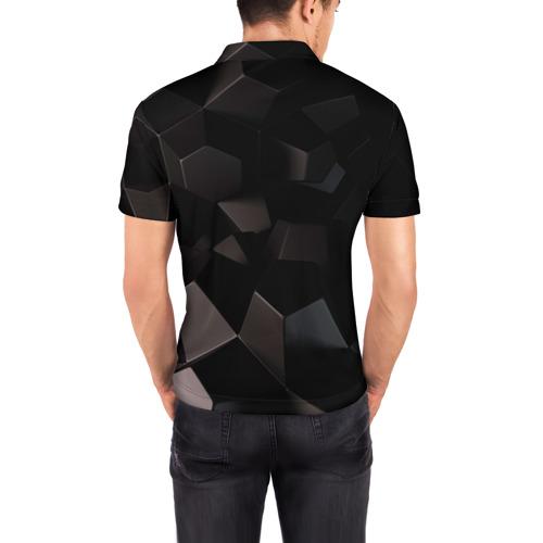 Мужская рубашка поло 3D  Фото 04, Howl
