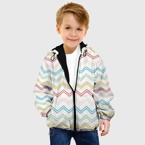 Детская куртка 3D Зигзаги Фото 01