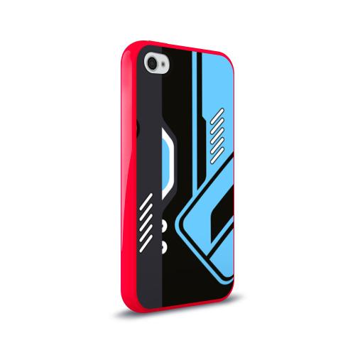 Чехол для Apple iPhone 4/4S силиконовый глянцевый Vulcan Фото 01