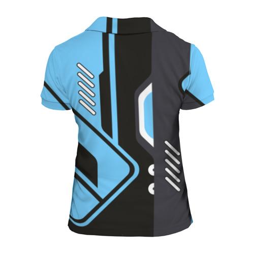 Женская рубашка поло 3D  Фото 02, Vulcan