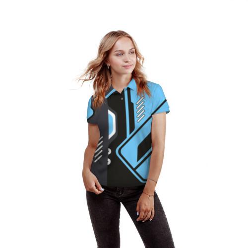 Женская рубашка поло 3D  Фото 03, Vulcan