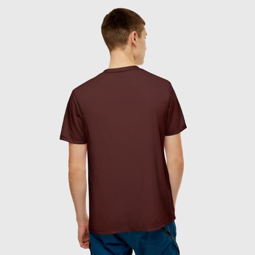 Мужская футболка 3D  Фото 02, Богатырь