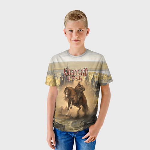 Детская футболка 3D Святая русь