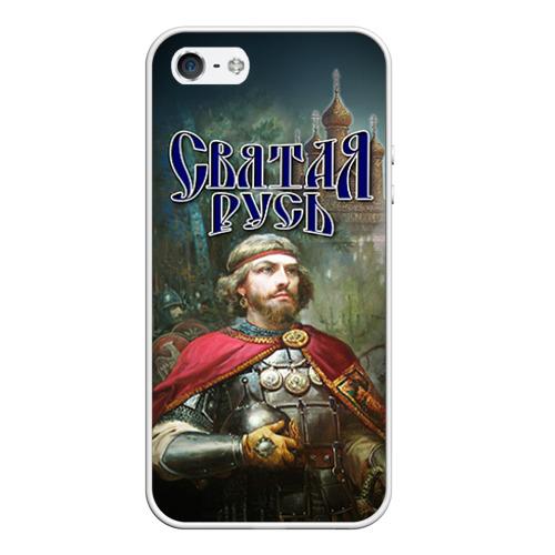Чехол силиконовый для Телефон Apple iPhone 5/5S Святая Русь от Всемайки