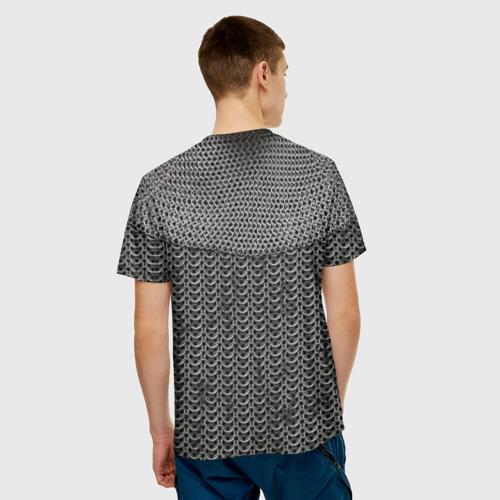 Мужская футболка 3D Кольчуга Фото 01