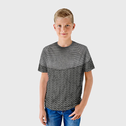 Детская футболка 3D  Фото 01, Кольчуга