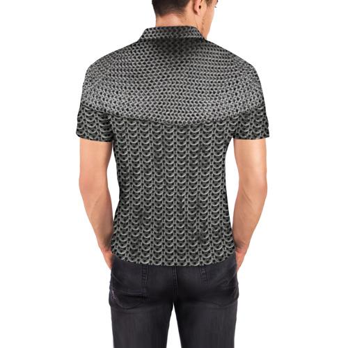 Мужская рубашка поло 3D  Фото 04, Кольчуга