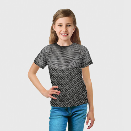 Детская футболка 3D  Фото 03, Кольчуга