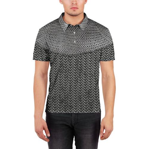 Мужская рубашка поло 3D  Фото 03, Кольчуга