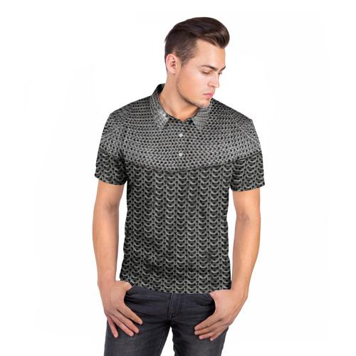 Мужская рубашка поло 3D  Фото 05, Кольчуга