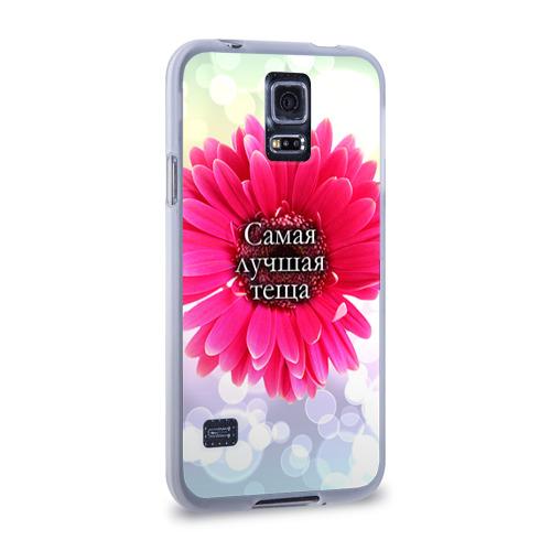 Чехол для Samsung Galaxy S5 силиконовый  Фото 02, Самая лучшая теща