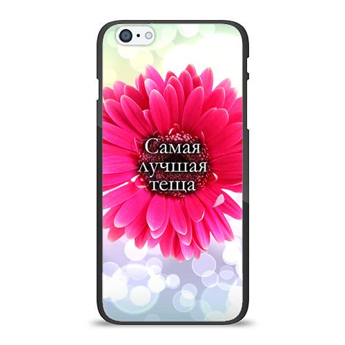 Чехол для Apple iPhone 6Plus/6SPlus силиконовый глянцевый  Фото 01, Самая лучшая теща
