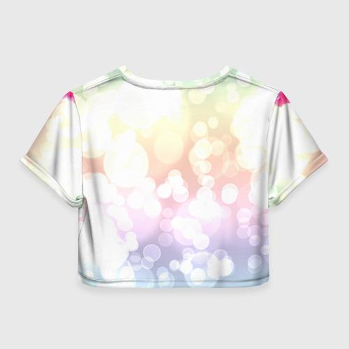 Женская футболка 3D укороченная  Фото 02, Самая лучшая теща