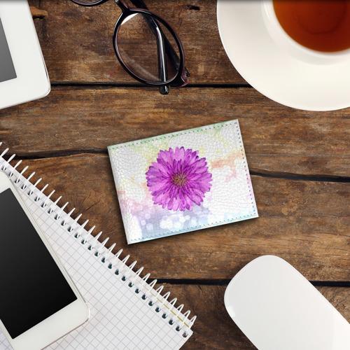 Обложка для студенческого билета  Фото 03, Цветок 1