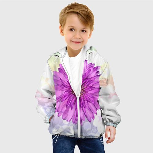 Детская куртка 3D  Фото 03, Цветок 1