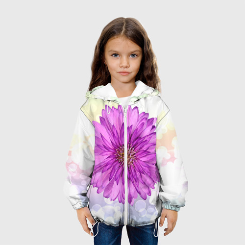 Детская куртка 3D  Фото 04, Цветок 1