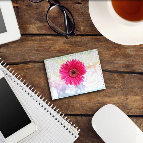 Обложка для студенческого билета  Фото 03, Цветок 2