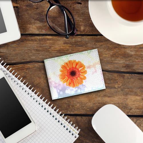 Обложка для студенческого билета  Фото 03, Цветок 4