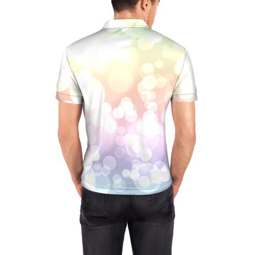 Мужская рубашка поло 3D  Фото 04, Цветок 5