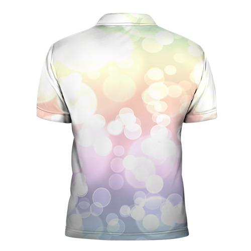 Мужская рубашка поло 3D  Фото 02, Цветок 5