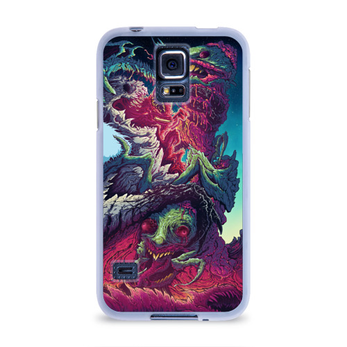 Чехол для Samsung Galaxy S5 силиконовый  Фото 01, Hyper Beast