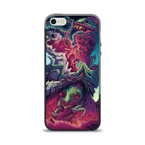Чехол для Apple iPhone 5/5S силиконовый глянцевый