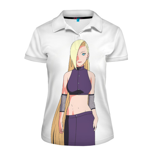 Женская рубашка поло 3D Ино из клана Яманако