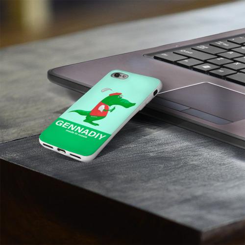 Чехол для Apple iPhone 8 силиконовый глянцевый  Фото 03, Gennadiy Импортозамещение