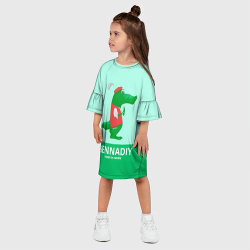 Детское платье 3D  Фото 03, Gennadiy Импортозамещение