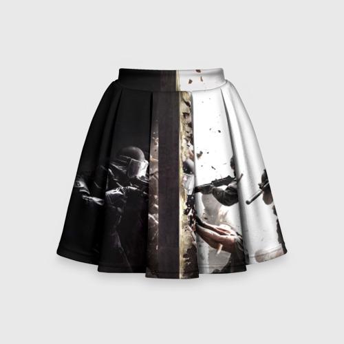 Детская юбка-солнце 3D SWAT
