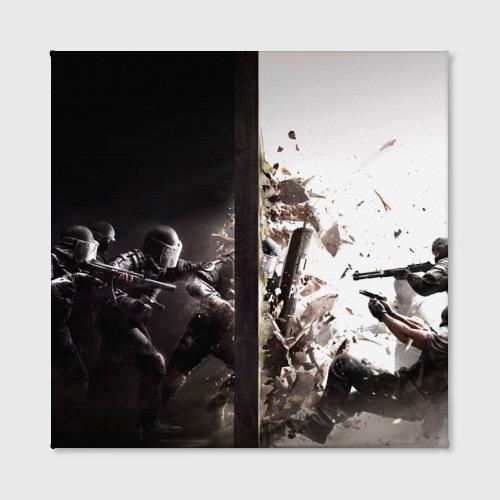Холст квадратный SWAT Фото 01