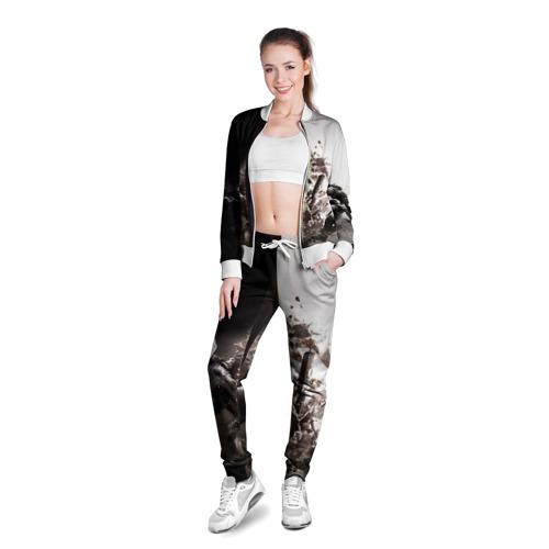Женская олимпийка 3D  Фото 03, SWAT