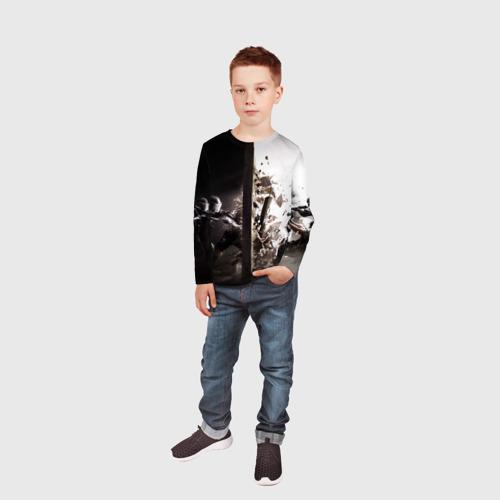 Детский лонгслив 3D SWAT Фото 01