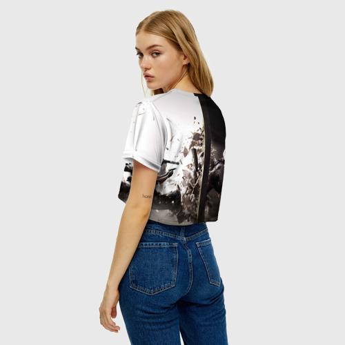 Женская футболка Cropp-top SWAT Фото 01
