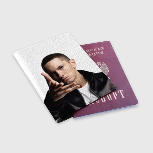 Обложка для паспорта матовая кожа  Фото 03, Eminem