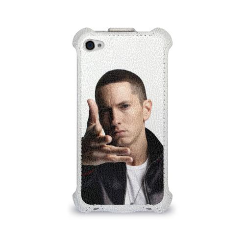 Чехол для Apple iPhone 4/4S flip  Фото 01, Eminem