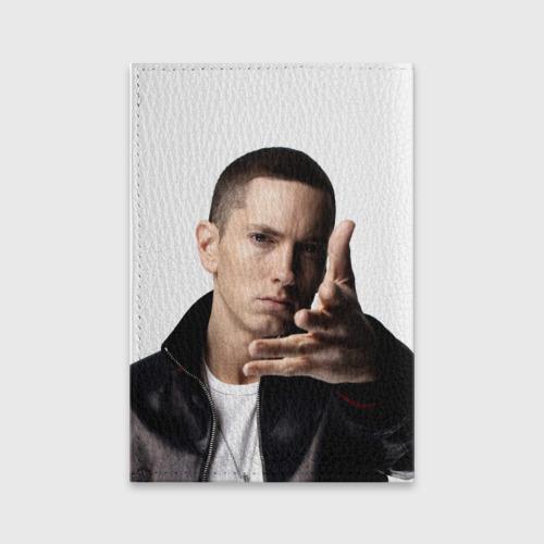 Обложка для паспорта матовая кожа  Фото 02, Eminem