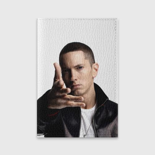 Обложка для паспорта матовая кожа  Фото 01, Eminem
