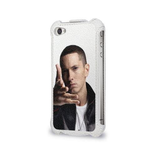 Чехол для Apple iPhone 4/4S flip  Фото 03, Eminem