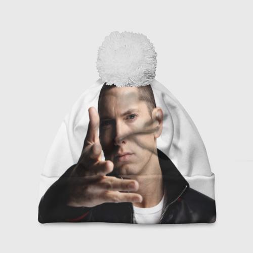Шапка 3D c помпоном Eminem