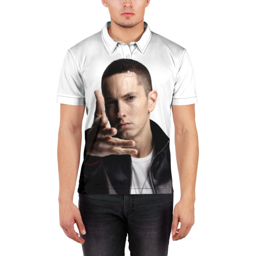 Мужская рубашка поло 3D  Фото 03, Eminem