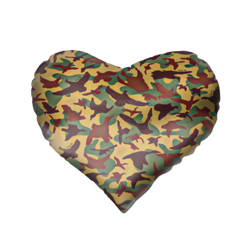Подушка 3D сердце  Фото 02, Полевая униформа