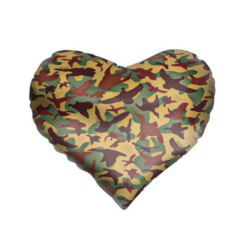 Подушка 3D сердце  Фото 01, Полевая униформа