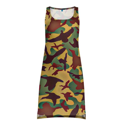 Платье-майка 3D Полевая униформа