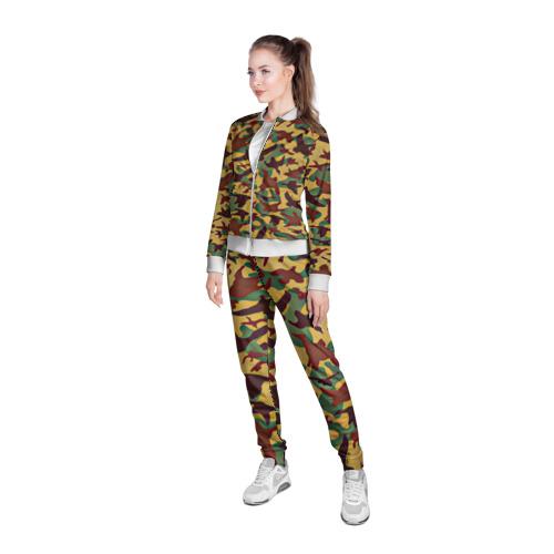 Женская олимпийка 3D  Фото 05, Полевая униформа